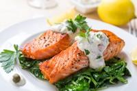 美味可口鱼排大餐高清图片下载