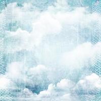 美丽复古蓝天白云背景高清图片下载