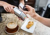 咖啡厅手机快捷支付高清图片下载