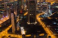 城市都市夜景车水马龙高清图片下载